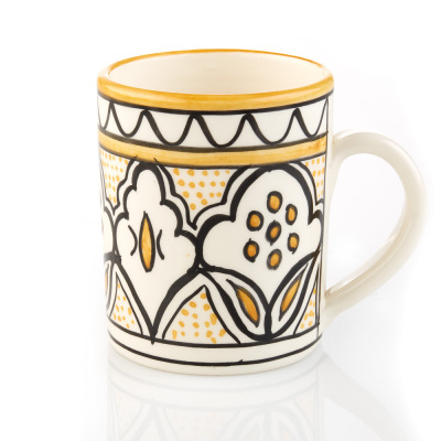 Yellow Jasmine West Bank Mug