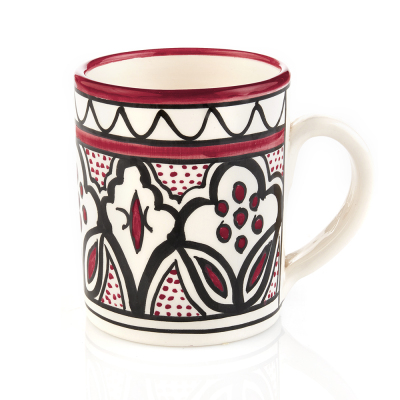 Rose Jasmine West Bank Mug
