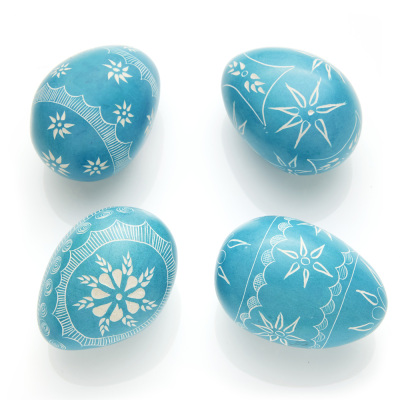Soapstone Egg Set