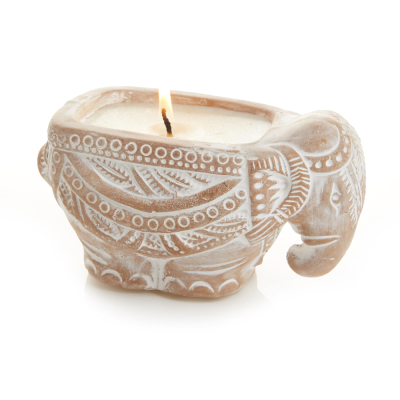 Elephant Citronella Candle