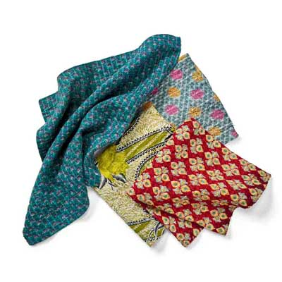 Kantha Napkins Set of 4