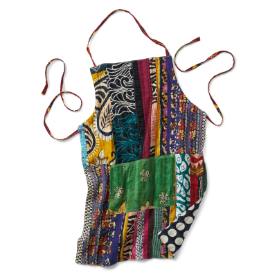 Kantha Patchwork Pocket Apron