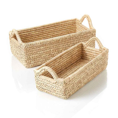 Long Nesting Kaisa Grass Baskets Set