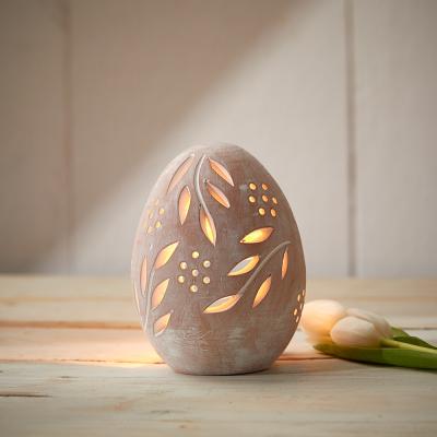Terracotta Egg Lantern