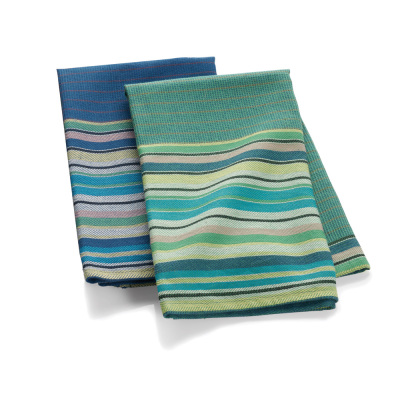 Garden Stripe Towels - Set of 2