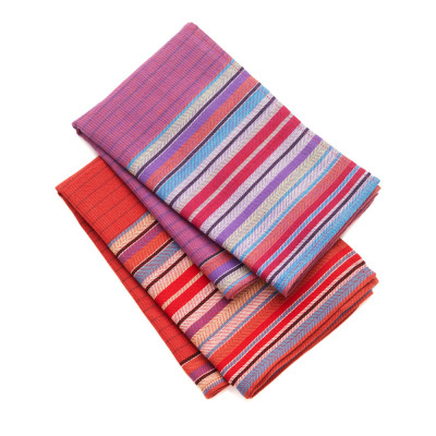 Terrace Stripe Towels - Set of 2