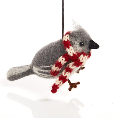 Cozy Titmouse Ornament