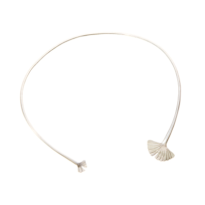 Ginkgo Drop Open Choker