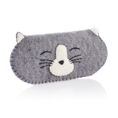 Happy Cat Glasses Sleeve