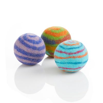 Rainbow Felted Dryer Ball