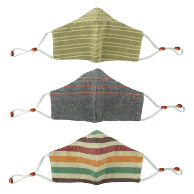 Woven Face Masks - Set of 3