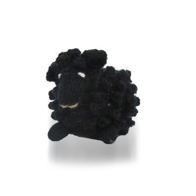Highland Lamb Ornament - Black