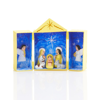 Starlight Matchbox Nativity