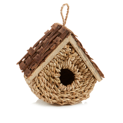 Basket Birdhouse