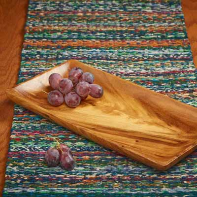 Acacia Wood Tray