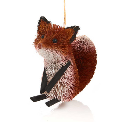 Friendly Fox Buri Ornament