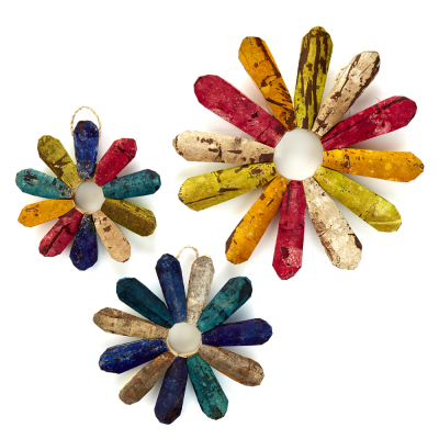 Rustic Wallflowers - Set of 3