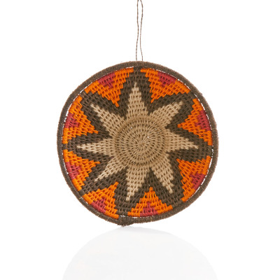 Swazi Star Sisal Basket Ornament
