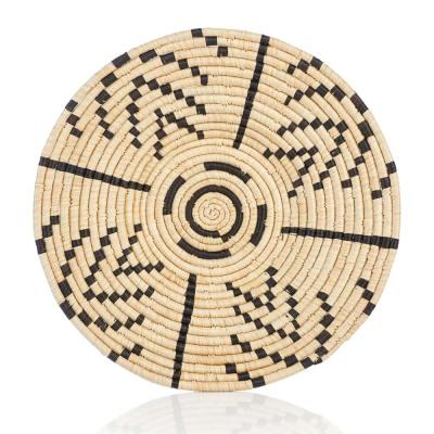 Matope Raffia Basket Plate