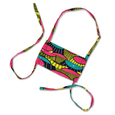 Colorful Kitenge Mask