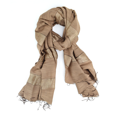 Brown Stripe Scarf - Buy 2 and Save!