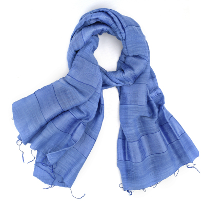 Blue Stripe Scarf - Buy 2 and Save!