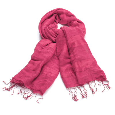Magenta Stripe Scarf - Buy 2 and Save!