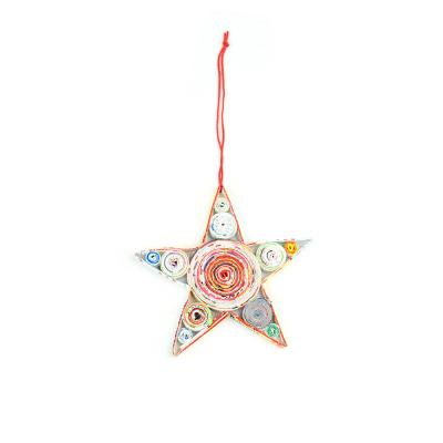 Colorwrap Star Ornament