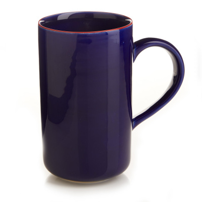 Cobalt Song Cai Latte Mug