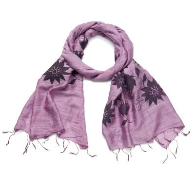 Lotus Scarf - Lavender