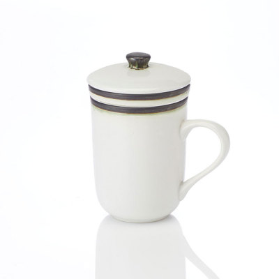 Modern Line Tea Infuser Mug