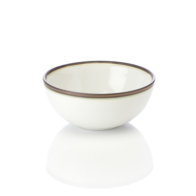 Modern White Noodle Bowl