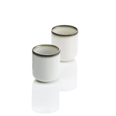 Modern Line Teacups Set