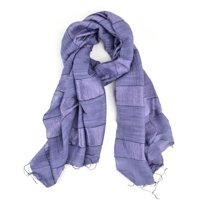 Purple Stripe Scarf - Buy 2 and Save!