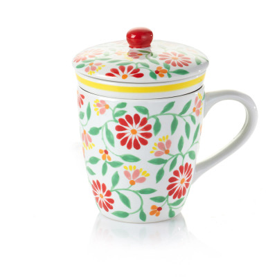 Sang Hoa Ceramic Tea Infuser Mug