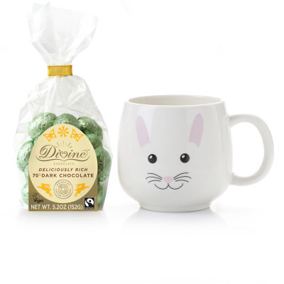 Sweet Bunny Mug & Chocolate