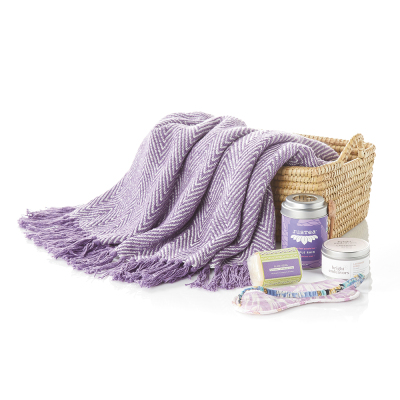 Pampered in Purple Gift Basket