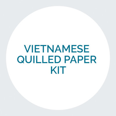 Vietnamese Quilled Paper Kit