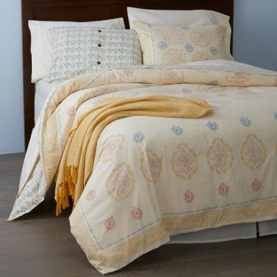 Spring Mandala Block Print Bedding