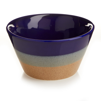 Tricolor Farmhouse Tapered Bowls, Set of 2