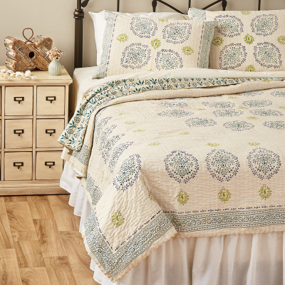 Vasanti Cotton Bedding