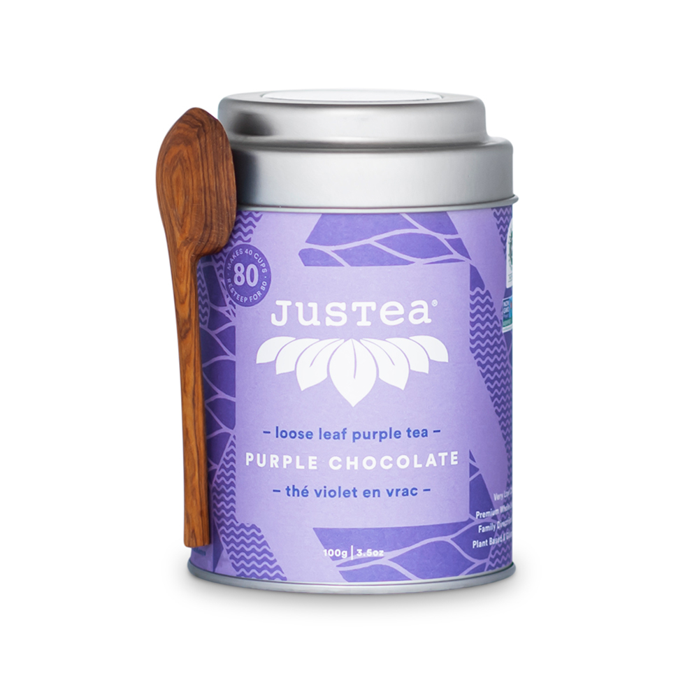 Purple Chocolate Loose Leaf Tea