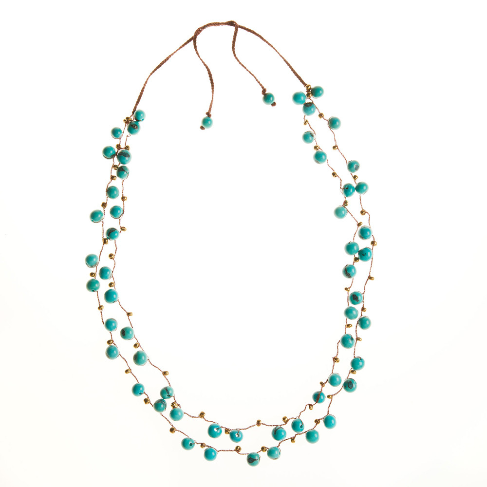 Acai Blue Berry Necklace