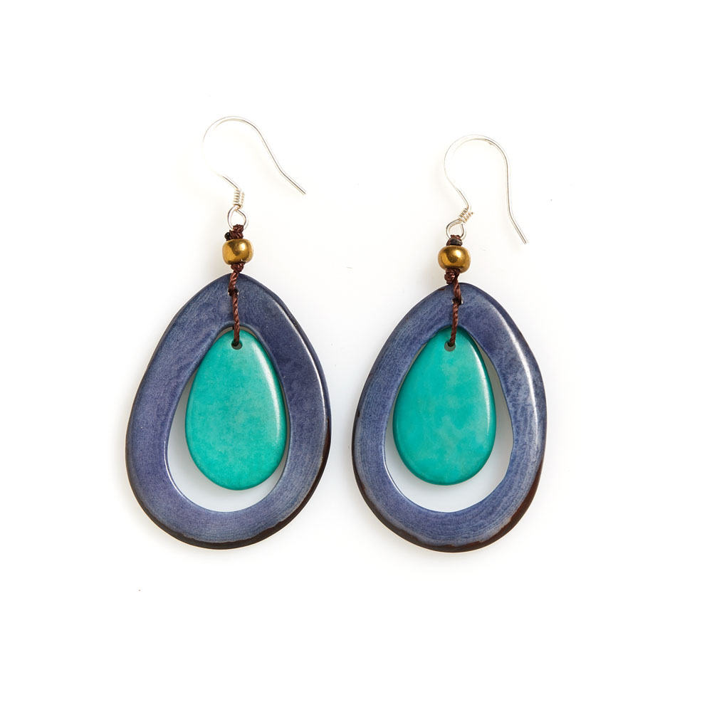 Seaside Tagua Earrings