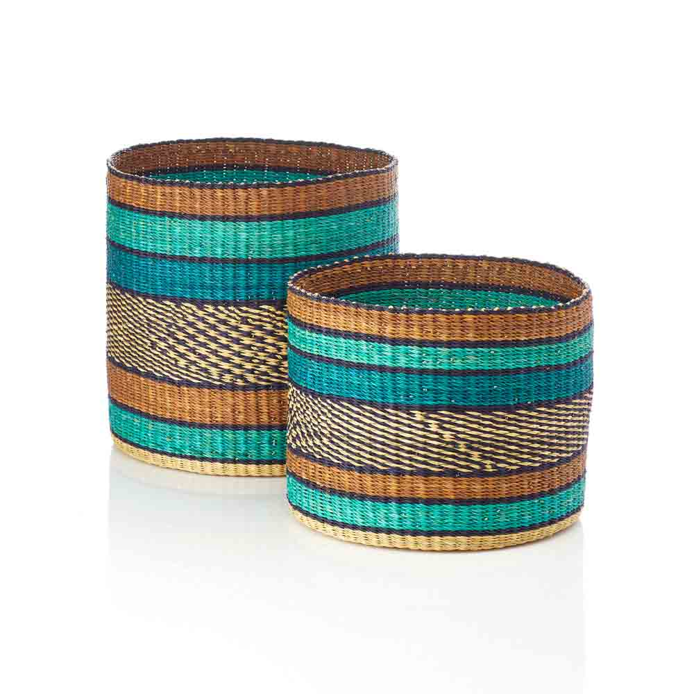 Earth & Ocean Nesting Baskets Set