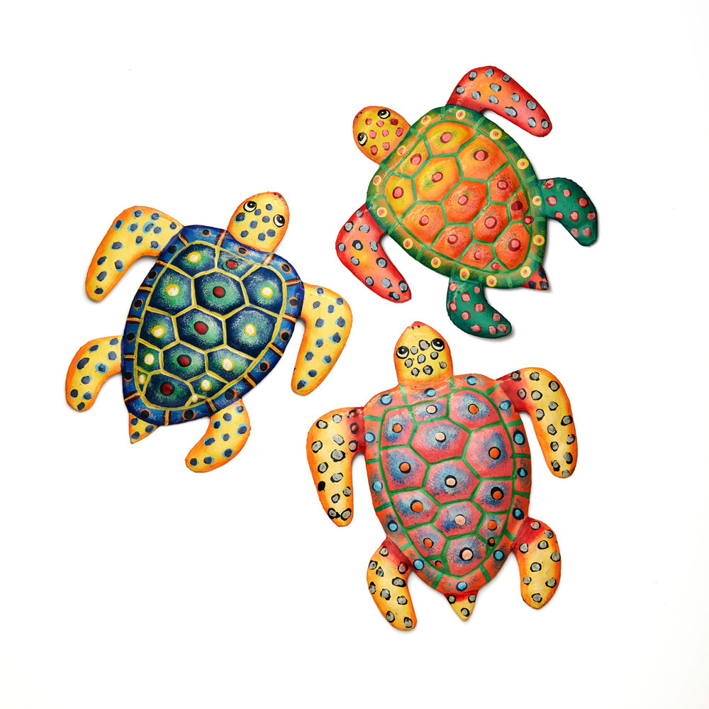 Sea Turtles Wall Art - Set of 3