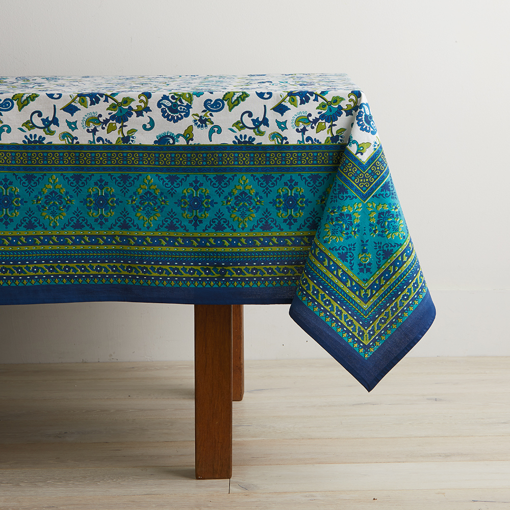 Monsoon Flower Tablecloth
