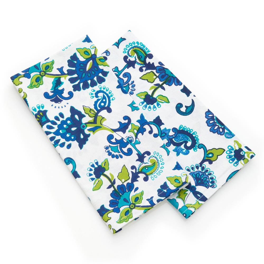 Monsoon Flower Napkins, Set of 2