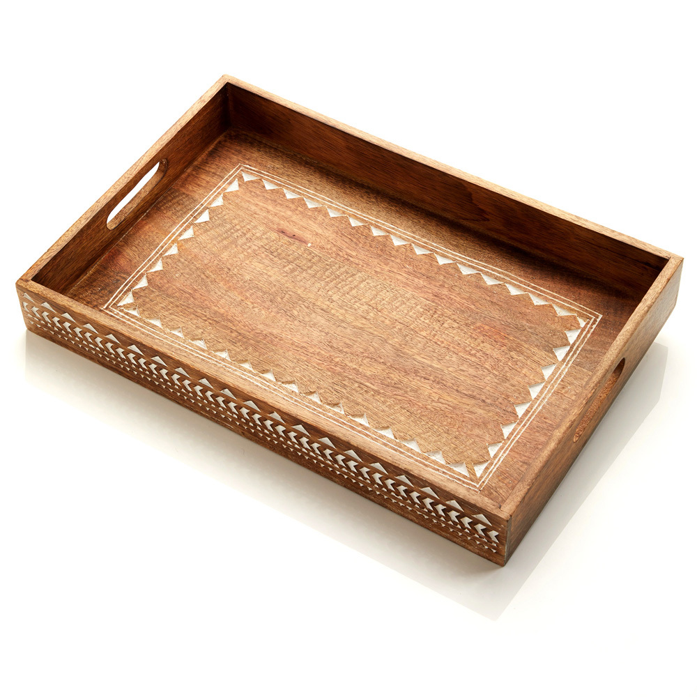 Large Mango Wood Tray