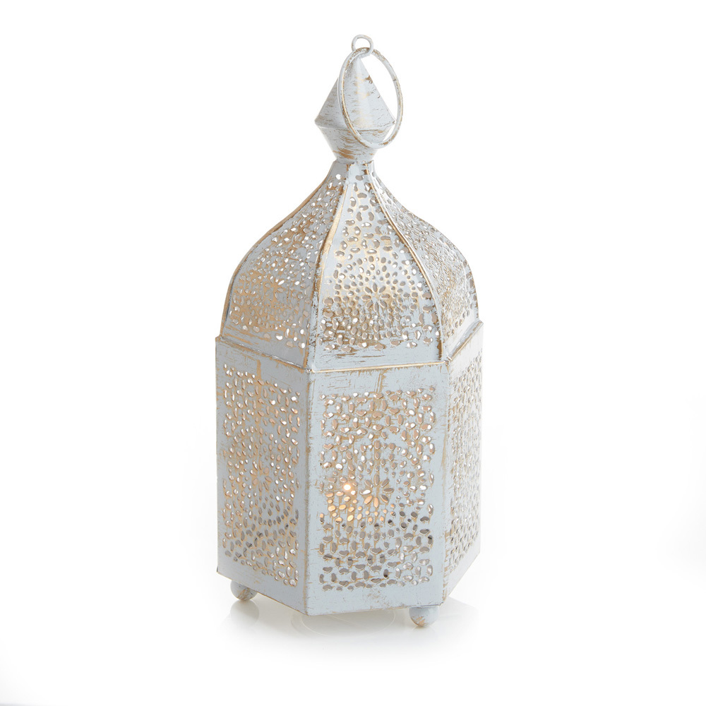 6-Sided Minaret Votive Lantern